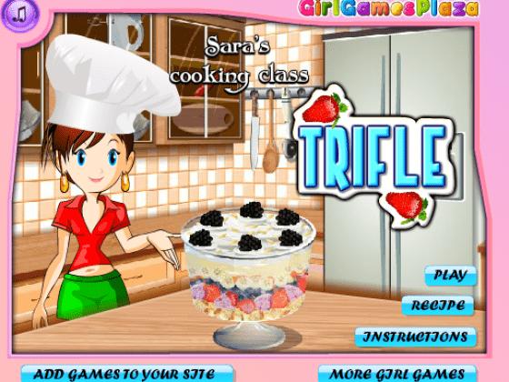 العاب طبخ حلويات سارة