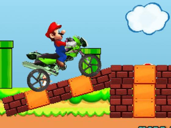 العاب دراجة ماريو