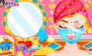 لعبة تنظيف وجه البنات
