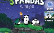 العاب الباندا الثلاثة