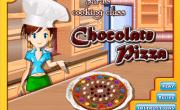 العاب طبخ الكيك بالشوكولاتة مع سارة