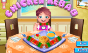 العاب طبخ كباب الدجاج