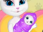 العاب عملية ولادة قطة