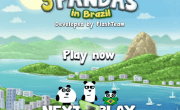 لعبة الباندا فى البرازيل