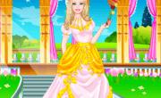 العاب تلبيس فستان زفاف باربي