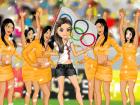 العاب تلبيس مشجعة البرازيل