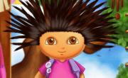 العاب قص شعر دورا