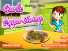 العاب طبخ الجمبرى مع سارة